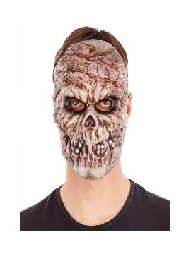 mascara de momia terrorifica pvc
