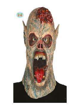 mascara de monstruo de los gusanos de latex adulto