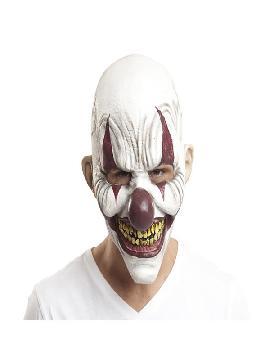 mascara de payaso agusanado