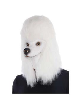 mascara de perro caniche completa latex