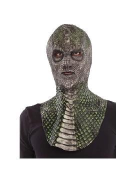 mascara de reptil completa latex