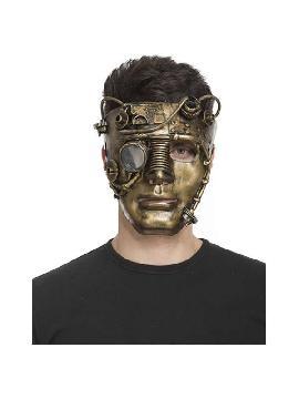mascara de steampunk cara completa