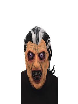 mascara vampiro con pelo latex