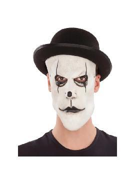 mascara y sombrero de mimo