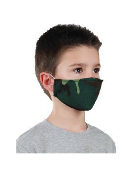 mascarilla de camuflaje infantil