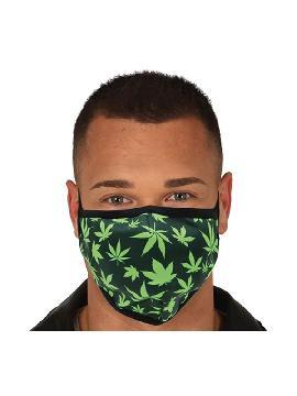 mascarilla de marihuana reutilizable para adulto