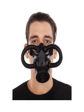 mascarilla steampunk negro