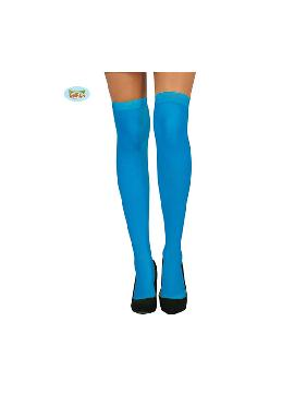 medias azules pitufo