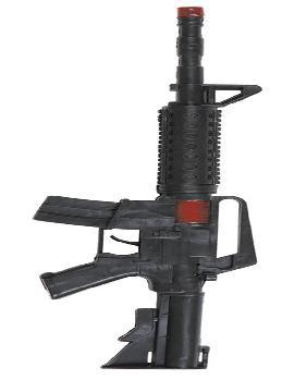 metralleta comando de plastico 44 cm