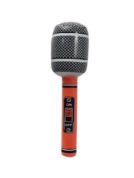 microfono hinchable 58 cm colores surtidos