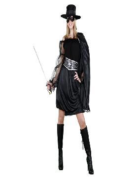 disfraz de zorro bandida adulto para mujer bt9694 Éste traje es perfecto para vestirse de la mujer del zorro.Esta superheroina es ideal para tus fiestas temáticas de disfraces superheroes y comic para mujer adultos.