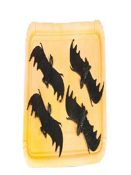 murcielagos 4 piezas para halloween