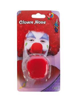 nariz roja de payaso