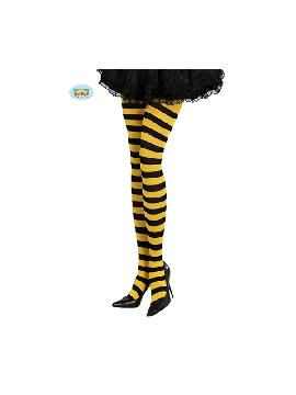 pantys con rayas amarillas y negras