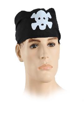 Pañuelo pirata 100x75 cm. Comprar vuestros pañuelos baratos para grupos. Este complemento es para temáticas de humor, piratas, bucaneros o para vuestros disfraces.