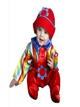 disfraz de payasete colorido. Este traje es ideal para tus fiestas temáticas de disfraces de payasos del circo,bufones y arlequines bebes infantiles.