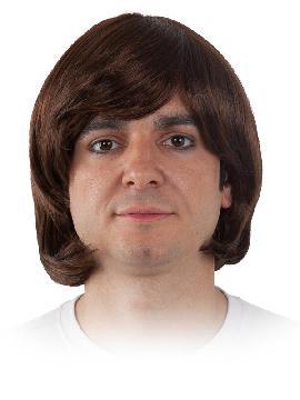 peluca abba hombre varios colores