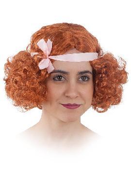 peluca años 20 corta mujer varios colores