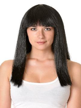 peluca cleopatra con flequillo varios colores