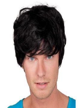 peluca corta tyler negra