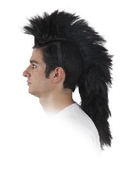 peluca cresta con diadema varios colores