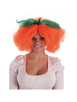 peluca de calabaza halloween