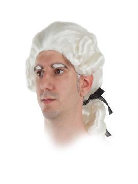 peluca de conde barroco