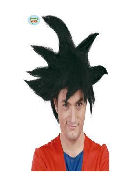 peluca de guerrero goku adulto