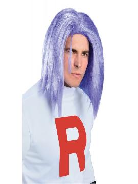 peluca de james team rocket para hombre