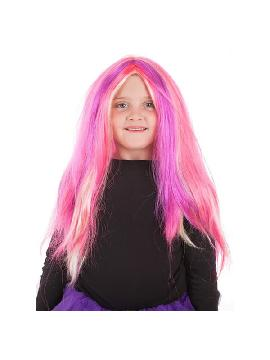 peluca de larga rosalinda para niña