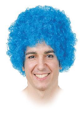 peluca de payaso con rizo adulto varios colores