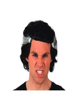 peluca de vampiro barato adulto