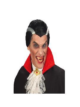 peluca de vampiro dracula adulto