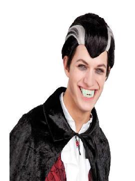 peluca de vampiro dracula corta