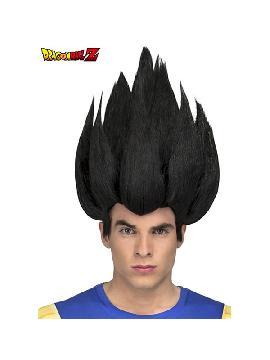 peluca de vegeta de dragon ball en caja hombre