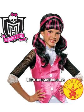 peluca draculaura monster high