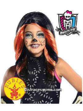 peluca eskelita monster high