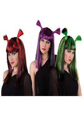 peluca fiona verde