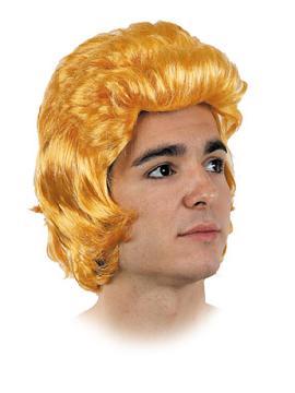 peluca james dean rubia con flequillo
