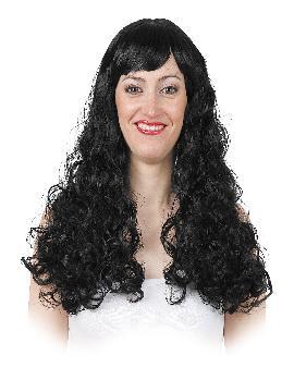 peluca melena ondulada extra larga varios colores
