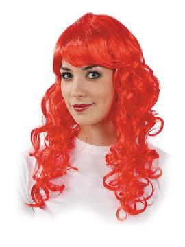 peluca melena ondulada varios colores
