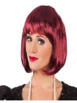 peluca rojiza cabaret corta