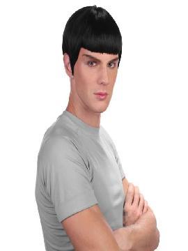 peluca space negra
