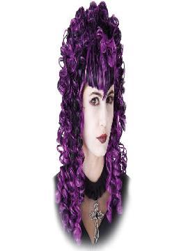 peluca rizos dama gotica
