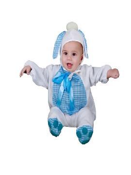 disfraz de perrito azul para bebe. Es ideal para Carnaval y para regalar en Navidad, en Reyes Magos, para un Cumpleaños o fiestas de guarderias.Este disfraz es ideal para tus fiestas temáticas de disfraces de animales para bebes.