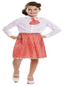 disfraz de pin up varios colores niña