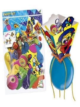 piñata pequeña con accesorios