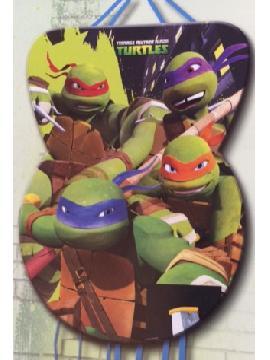 piñata tortugas ninjas grande 46 x 65 cm para cumpleaños