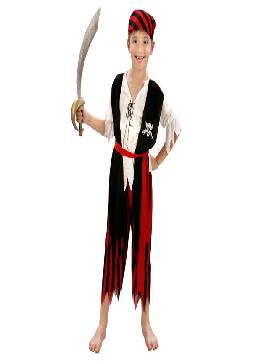 disfraz de piratas barato para niño