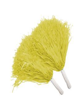 pompon amarillo 2 unidades